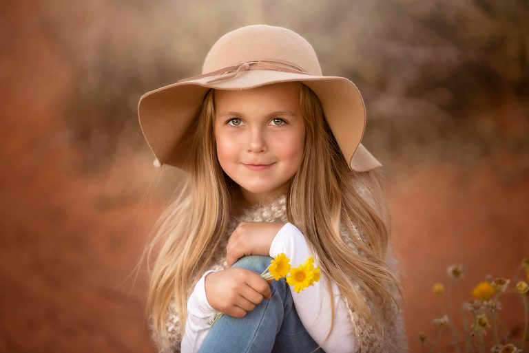 St. George Utah Children's Portrait Photographer